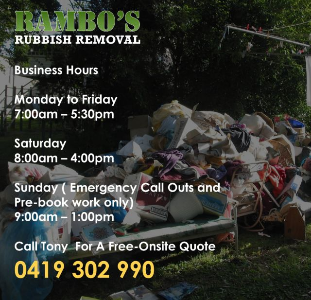 Rubbish Removal Mordialloc